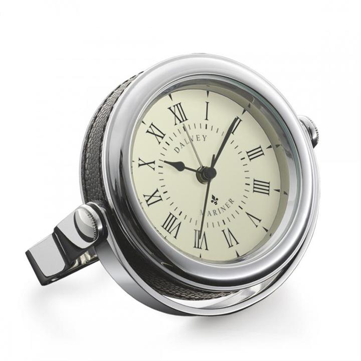 Dalvey scotland orologio da tavolo mariner in pelle - Dalvey orologio da tavolo ...