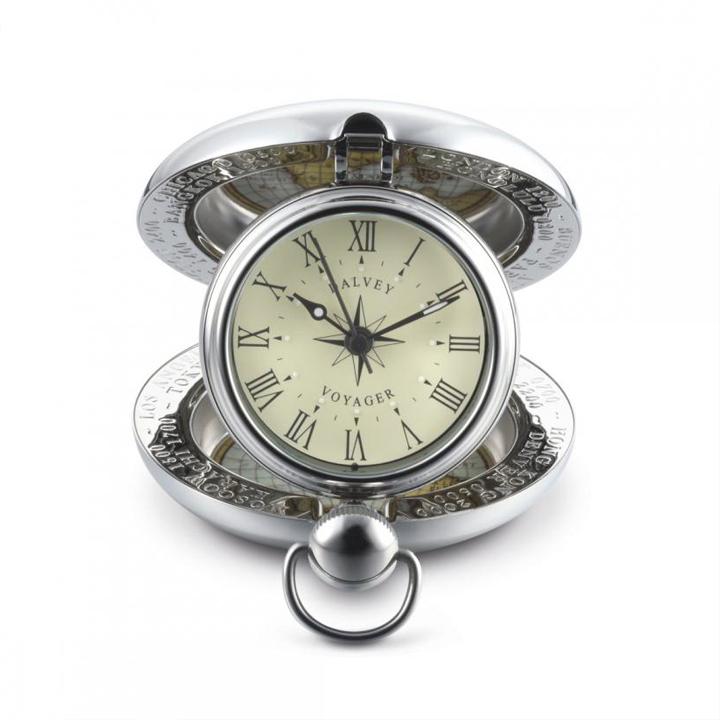 Dalvey scotland orologio da viaggio voyager cod 00673 - Dalvey orologio da tavolo ...